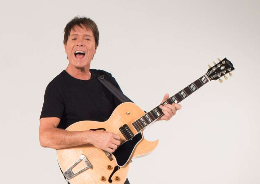 Cliff Richard'Picture by Louis Bryant ANL-160811-120109001