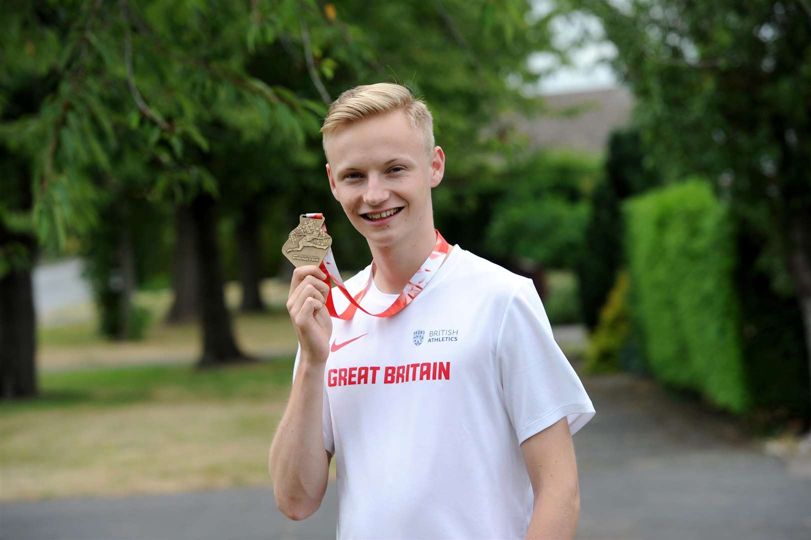 Callum Wilkinson has just won the World Junior U20 Championship in Poland. (6100348)