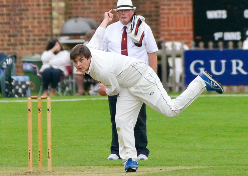 Haverhill's Ben Wilkins took 3-33 and scored 19 at Kelvedon & Feering but his side still lost by 95 runs