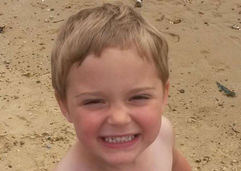 Dexter Neal, 3, died after being bitten by a dog in Halstead.
