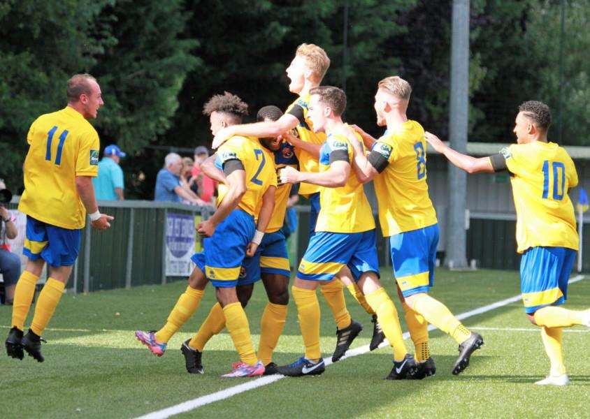 LOCAL DERBY: AFC Sudbury will host Mildenhall in the FA Cup. Picture: Clive Pearson