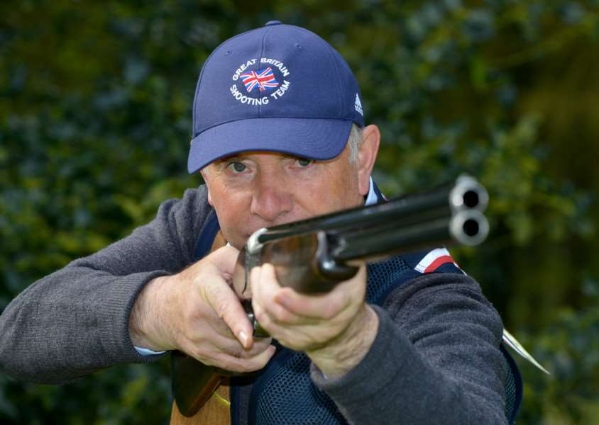 Frank Haigh from Baythorne End has just won gold at the World Compak Shooting Competition. ANL-150305-164449009
