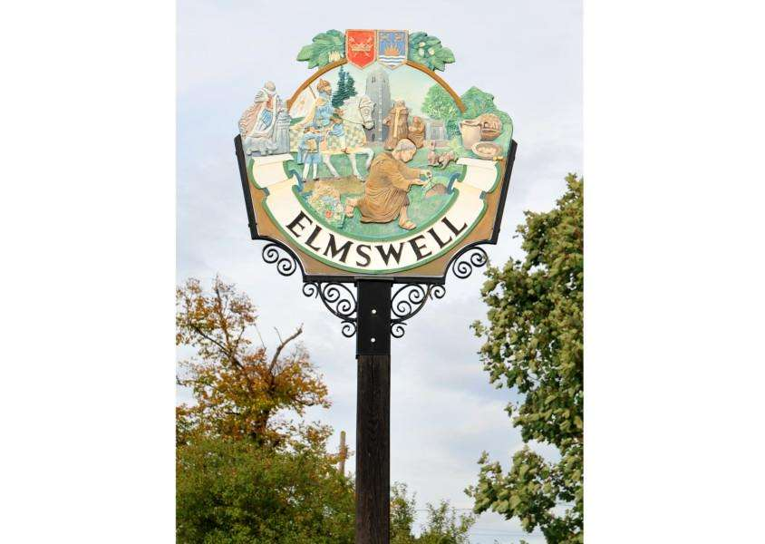 Elmswell village sign