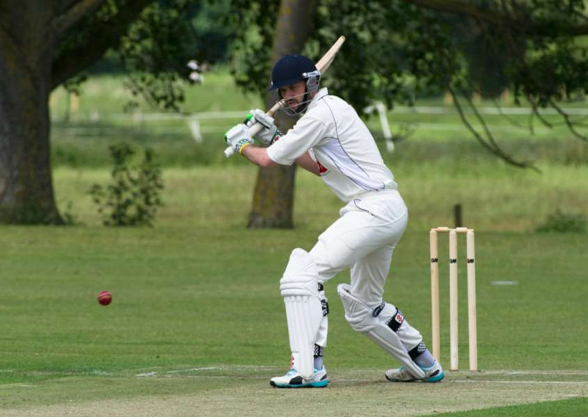 HIGH SCORER: Worlington's Jimmy Watson scored 59 runs during Saturday's narrow win against Witham
