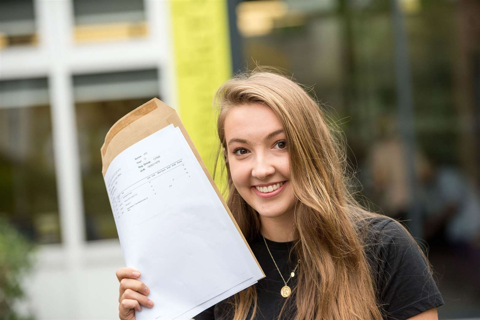 Millie Eddy achieved two A*s and one A. Picture by Mark Westley. (15276376)