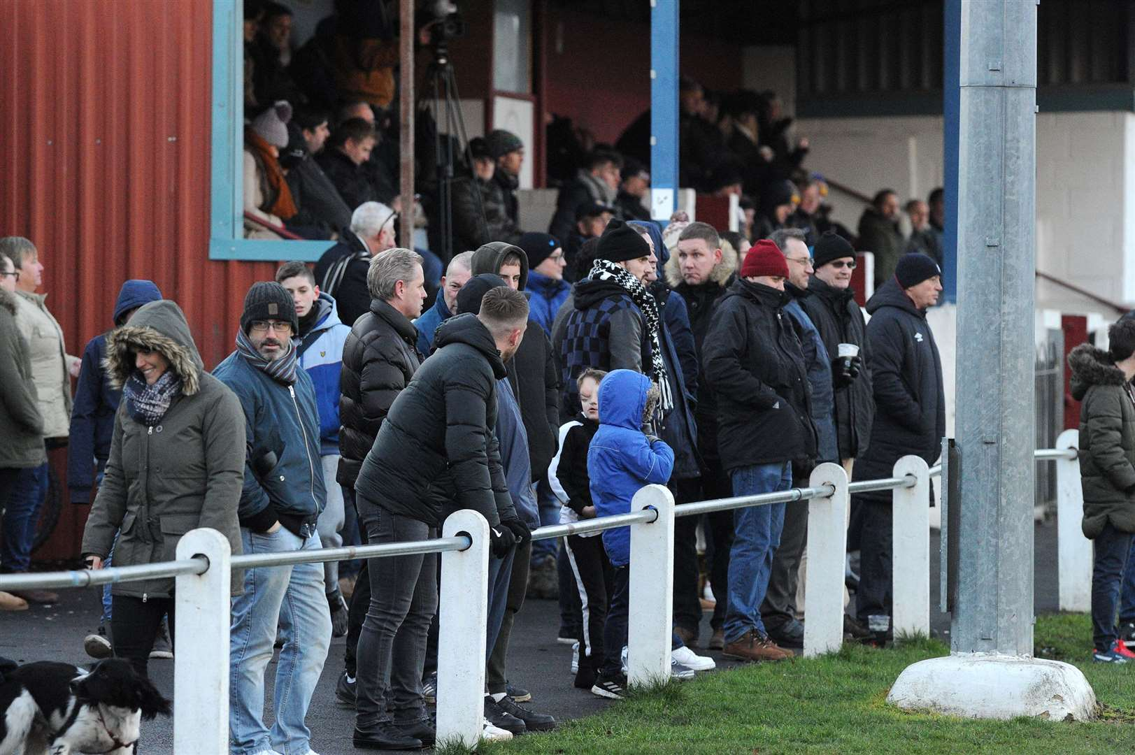 FOOTBALL - Thetford Town v Norwich United..Pictured: Crowd...PICTURE: Mecha Morton. (14675504)