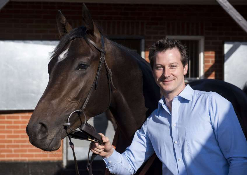 CHANGING PLANS: James Tate is hoping to send Hey Gaman to the Racing Post Trophy Stakes