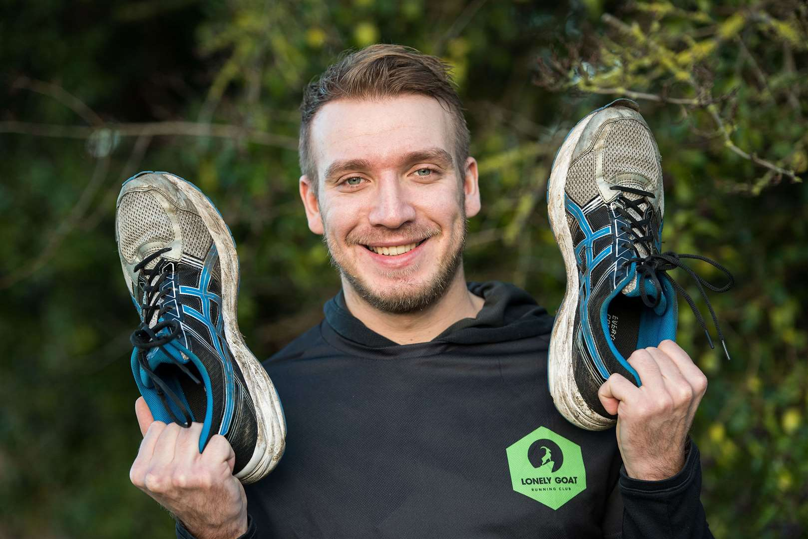 Gareth Isaacson is running 106km around the Isle of Wight in May to raise funds for Mind. Picture by Mark Westley.