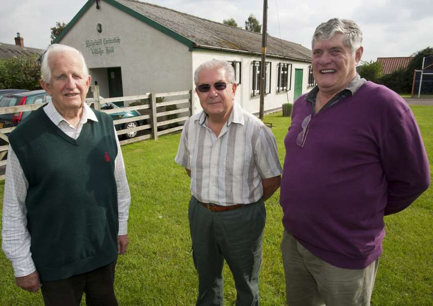 Ridgewell Village Hall Comittee has been set up to raise money for improvements to the hall. Malcolm Mason, John Arthur and Brian Teale are committee members. Mark Westley Photography