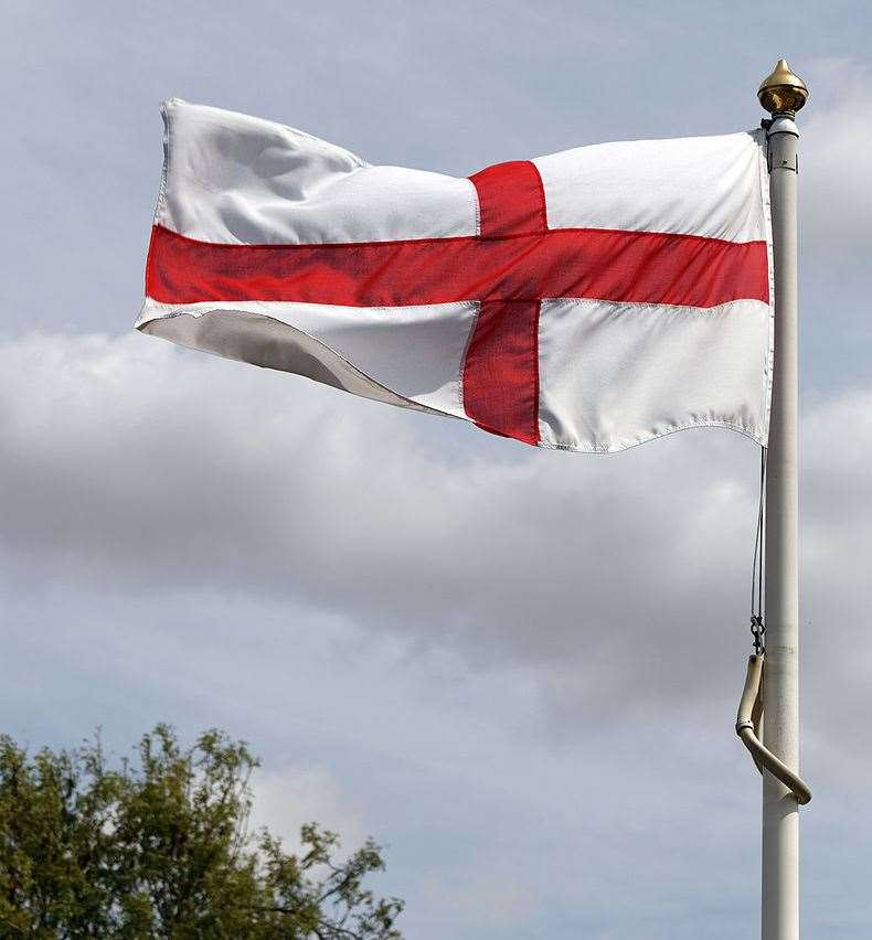 Fly the flag for St George