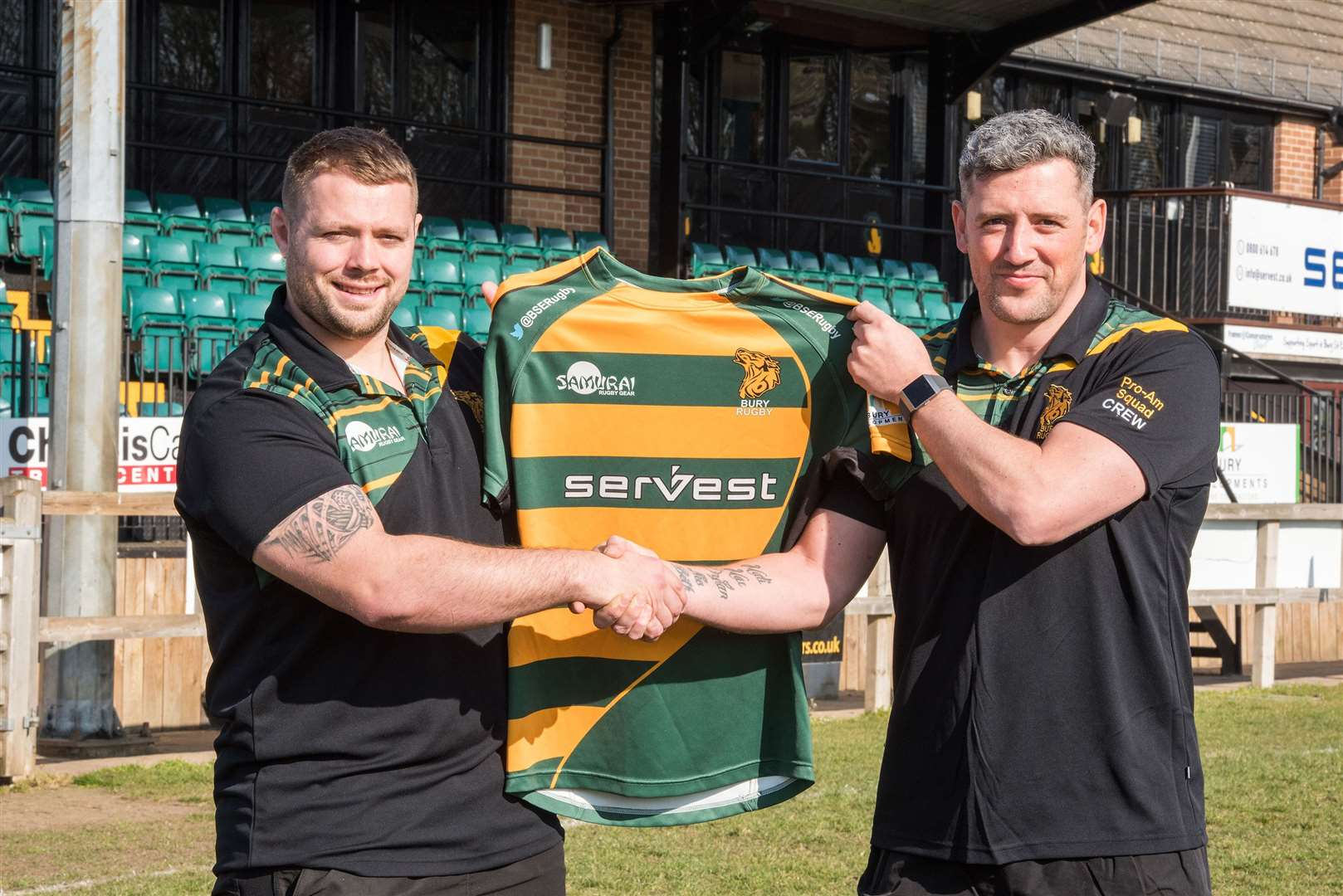 Championship prop Ben Cooper (left) has signed for next season Picture: Mark Westley