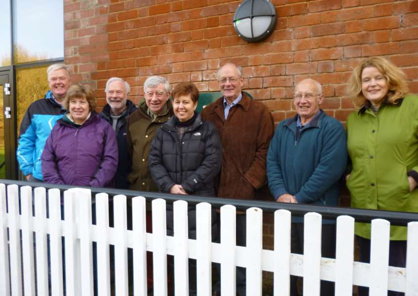 Clare Castle Country Park board of trustees: Gary Brown, Charmain Hawkins, Derek Blake, Richard Smith, Sharon Benson, Geoffrey Bray, Keith Mison and Kate Terry