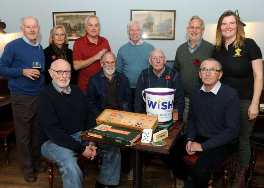 During November, Oakes Barn are raising money for local mens health. Working with My WiSH Charity, they are having a Men Foakes Month with lots of events''Pictured: A games afternoon at Oakes Barn''''PICTURE: Mecha Morton