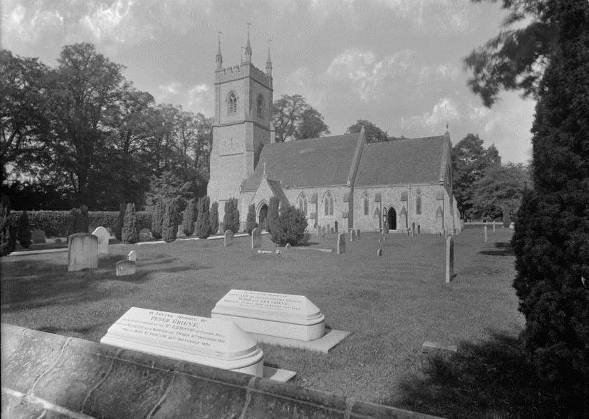 Church of St Mary the Virgin, Culford. From the Spanton Jarman collection ANL-160915-125834001