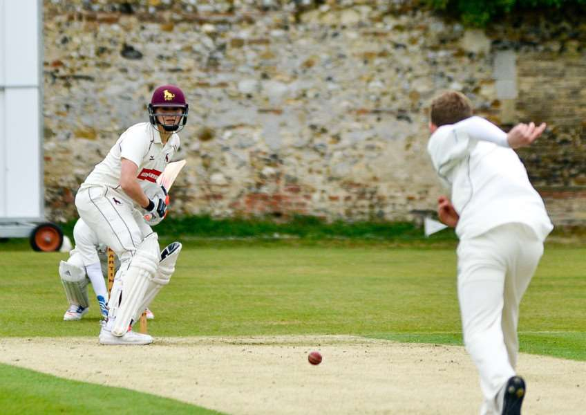 IMPORTANT WIN: Sudbury II's Keelan Waldock (41) helping his team to a 46-run defeat of Brockley at home in the Marshall Hatchick Two Counties Cricket Championship Division Three. Sudbury II (234-7) beat Brockley (188)