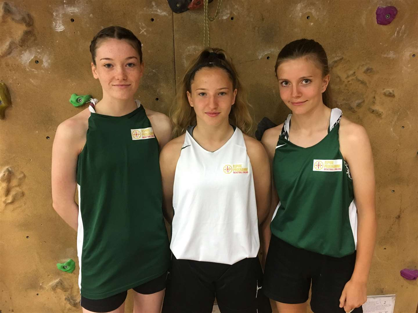County Upper basketball players Jemima Kent, Grace Spooner and Anna Cartwright are set to represent the East of England (13925866)