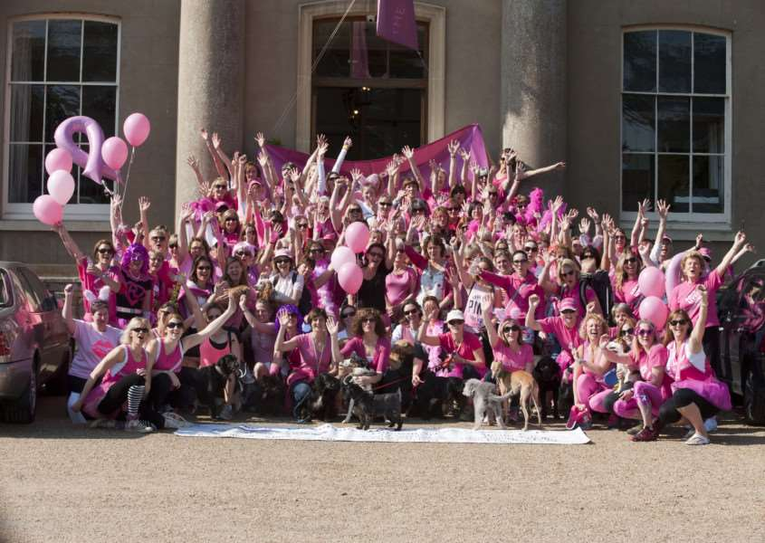 Mark Westley Photography'Walk on Westside Breakthrough Breast Cancer Walk Ickworth Park Horringer. ANL-140515-203714009