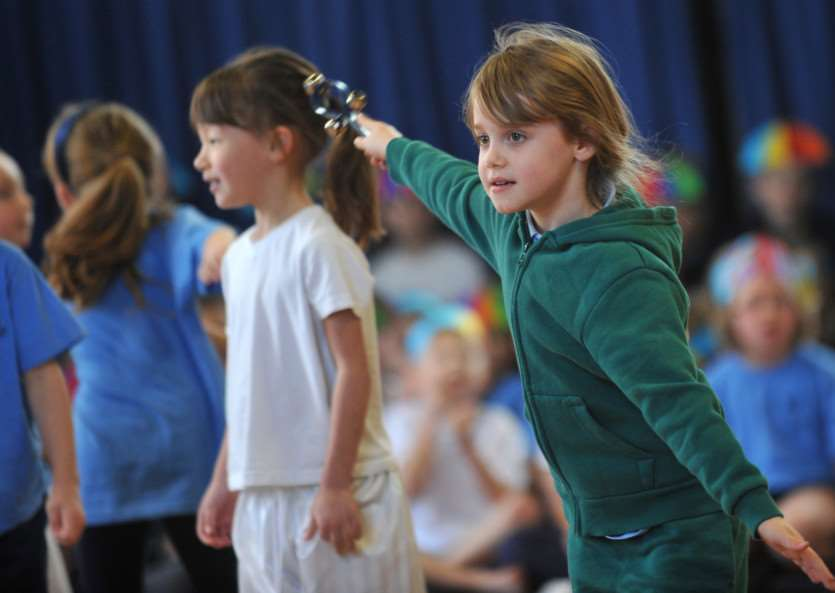 Guildhall Feoffment Primary held a dance festival ANL-150902-135627009