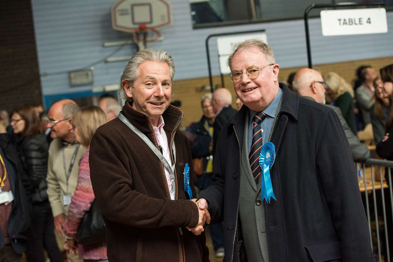 Cllr Andy Drummond and Cllr James Lay
