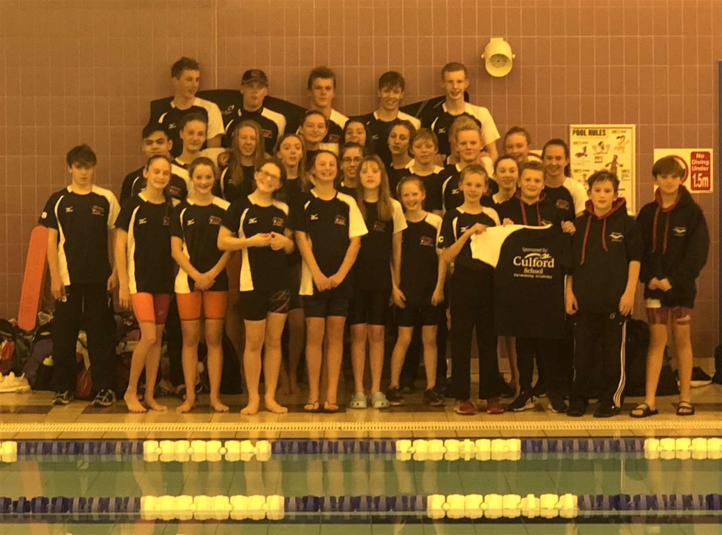 West Suffolk Swimming Club following Round 2 of the East Midlands region National Arena Swimming League. Picture: Contributed (5362921)