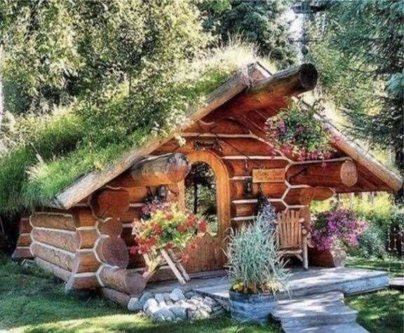 Hobbit-style luxury pods similar to this one could soon feature at a glamping site proposed for just outside Soham. Picture: ECDC