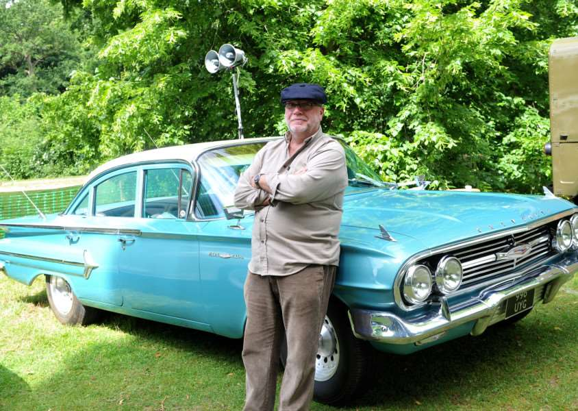 Cars on the Green in Nowton Park''Pictured: Tony Bruton with his 1960 Chevolet Belair ANL-150621-234925009