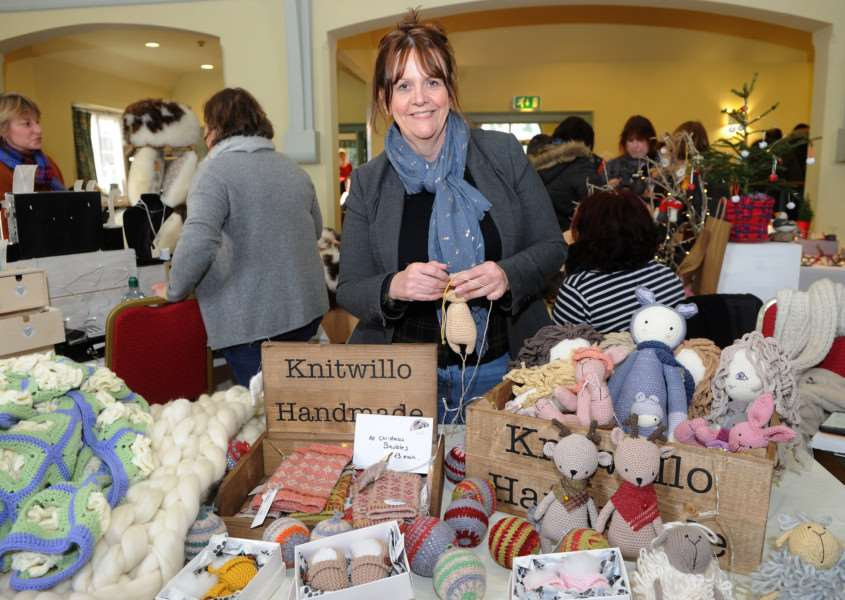 Hartest Winter Festive Market''Pictured: Alicia Mortlock - Knitwillo'''PICTURE: Mecha Morton'''''''PICTURE: Mecha Morton