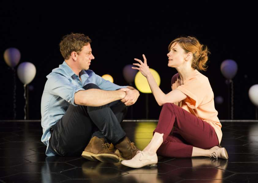 Joe Armstrong and Louise Brealey in Constellations ANL-150106-142838001