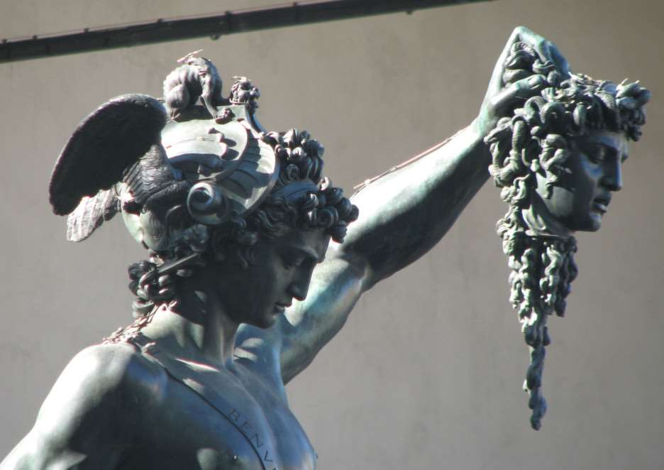 Perseus in Florence, by Karl Chubb ANL-141222-112422001