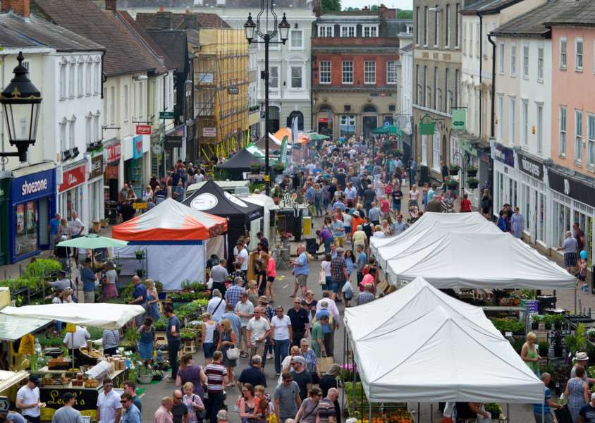 Bury St Edmunds, Suffolk. Whitsun Fayre ''Picture: MARK BULLIMORE