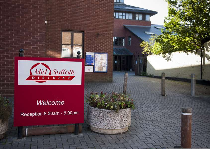 Mark Westley Photography'Mid Suffolk District Council building in Needham Market. ANL-140710-214527009