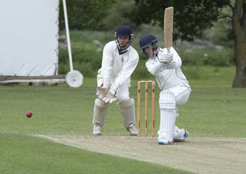 IN THE RUNS: Matt Allen top scored for Mildenhall