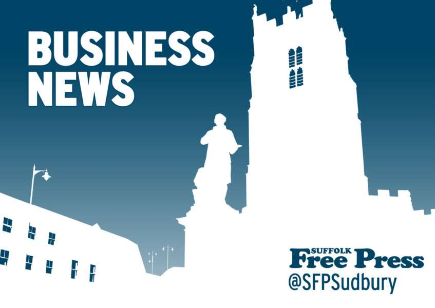 Latest business news from the Suffolk Free Press, suffolkfreepress.co.uk, @sfpsudbury on Twitter