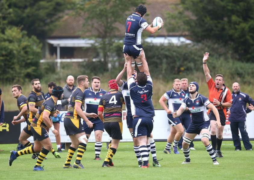 A REAL HIGHLIGHT: Saturday's home game saw Sudbury run out 93-0 victors over Ipswich