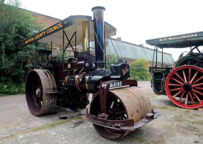 Long Melford Crank-Up''''PICTURE: Mecha Morton