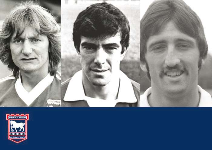 Eric Gates, Bryan Hamilton and David Johnson appear in the ITFC Legends at Bury St Edmunds Theatre Royal