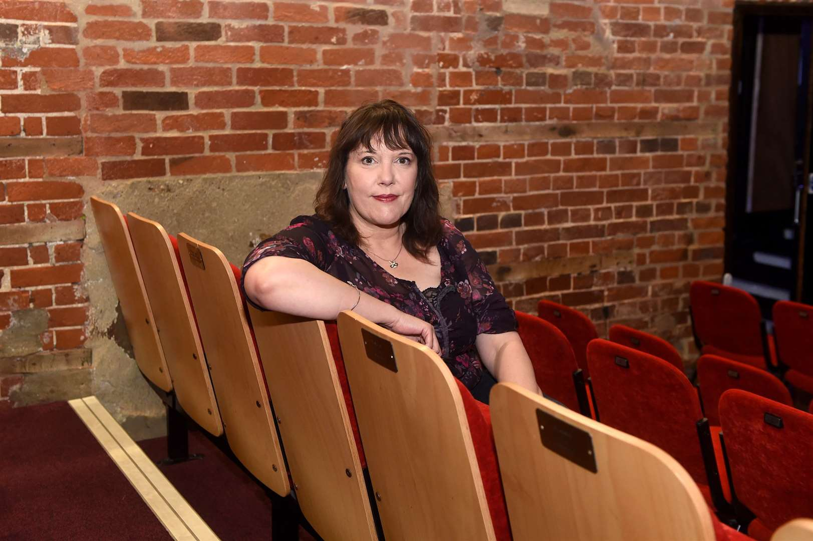 The Sudbury Quay Theatre is launching a new online project, which will enable the public to watch a range of performances and shows, while taking part in a series of virtual events by posting their own videos....Pictured: Manager Sharon Buckler....PICTURE: Mecha Morton .... (36764586)