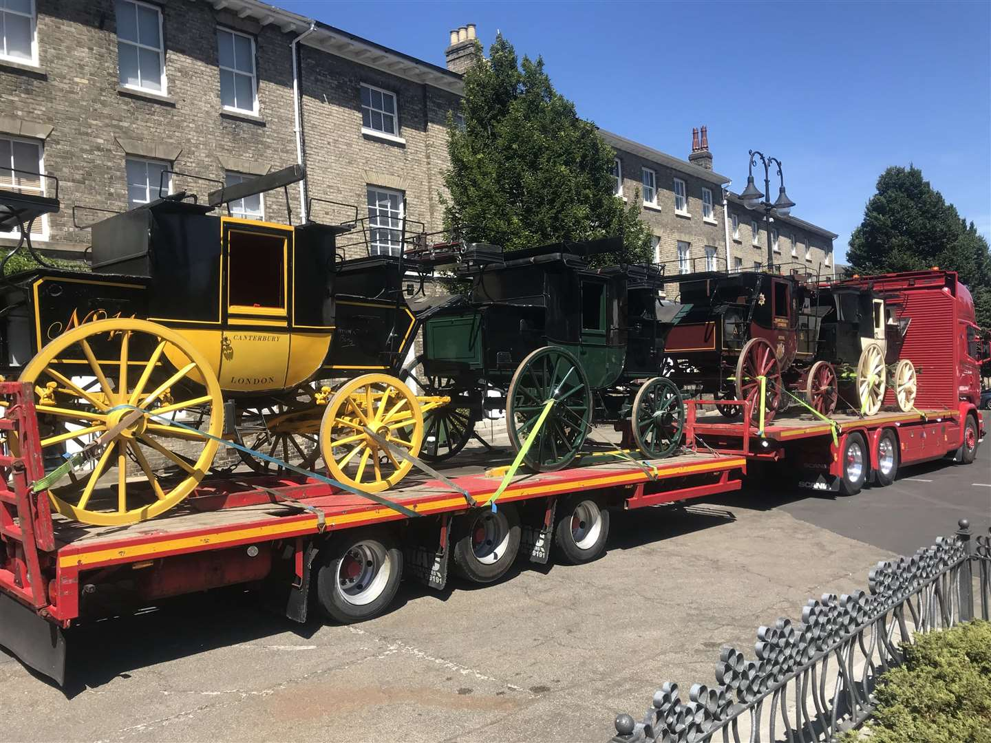 Preparations are underway for the filming of a new David Copperfield film in Bury St Edmunds (2822859)