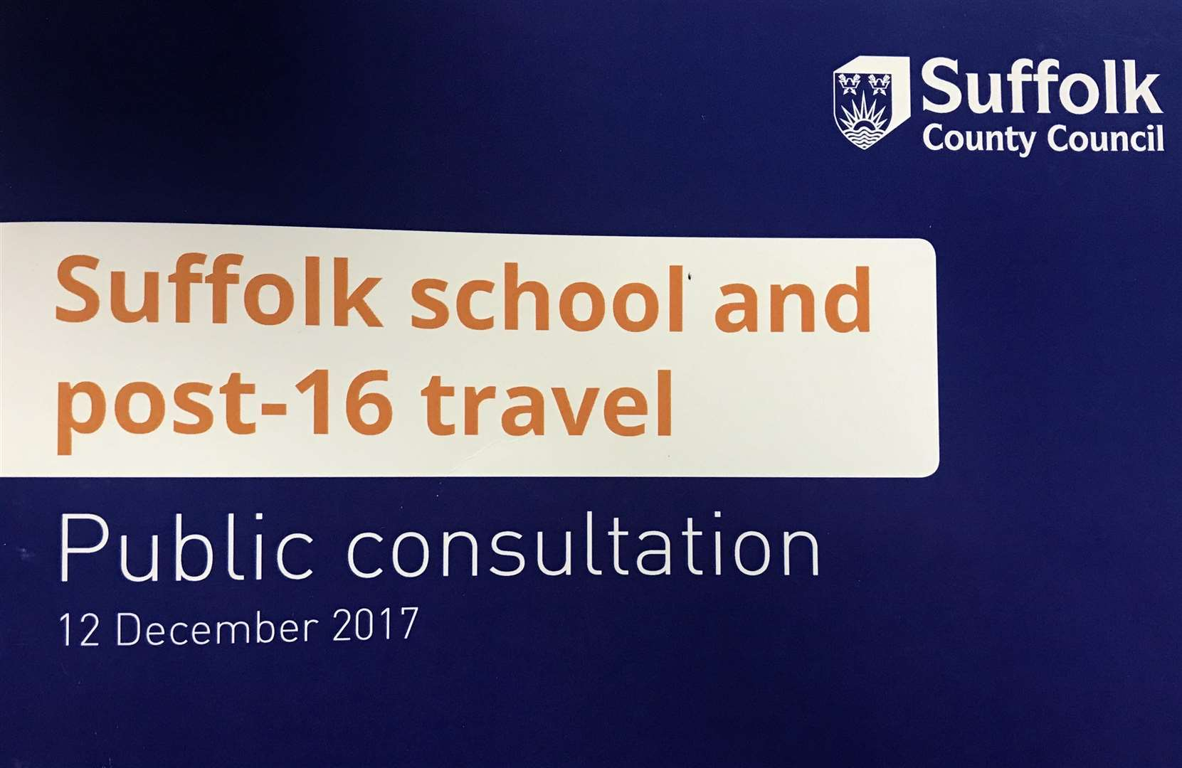 Suffolk County Council have proposed making cuts to school transport in order to save money (2049898)