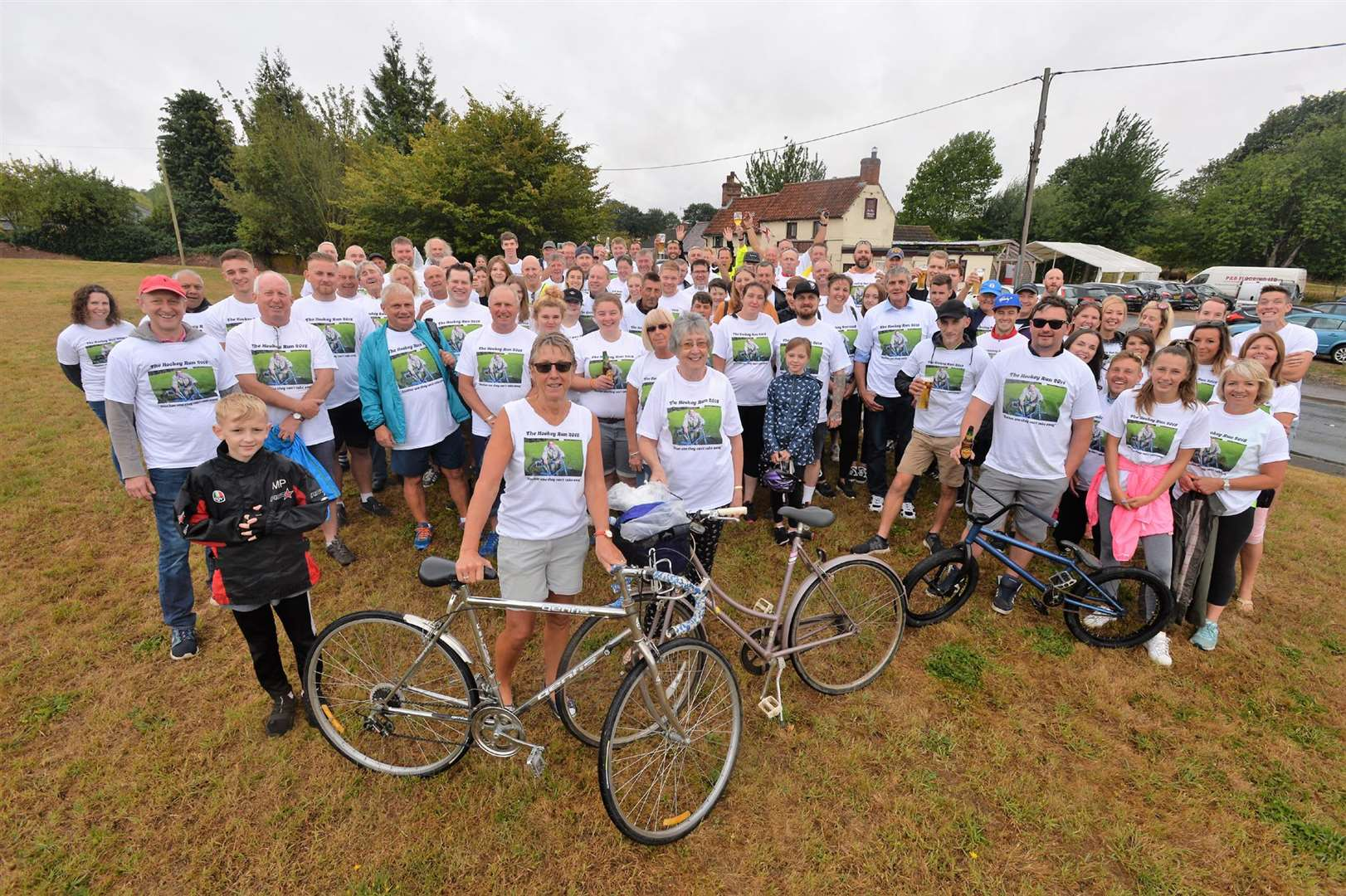 Dullingham sponsored cycle ride (3478749)