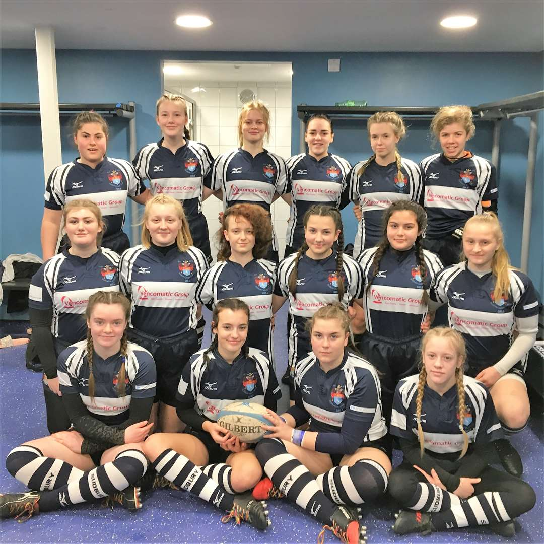 Sudbury Under-15s made it to the regional finals of the RFU National Girls Cup (7596253)