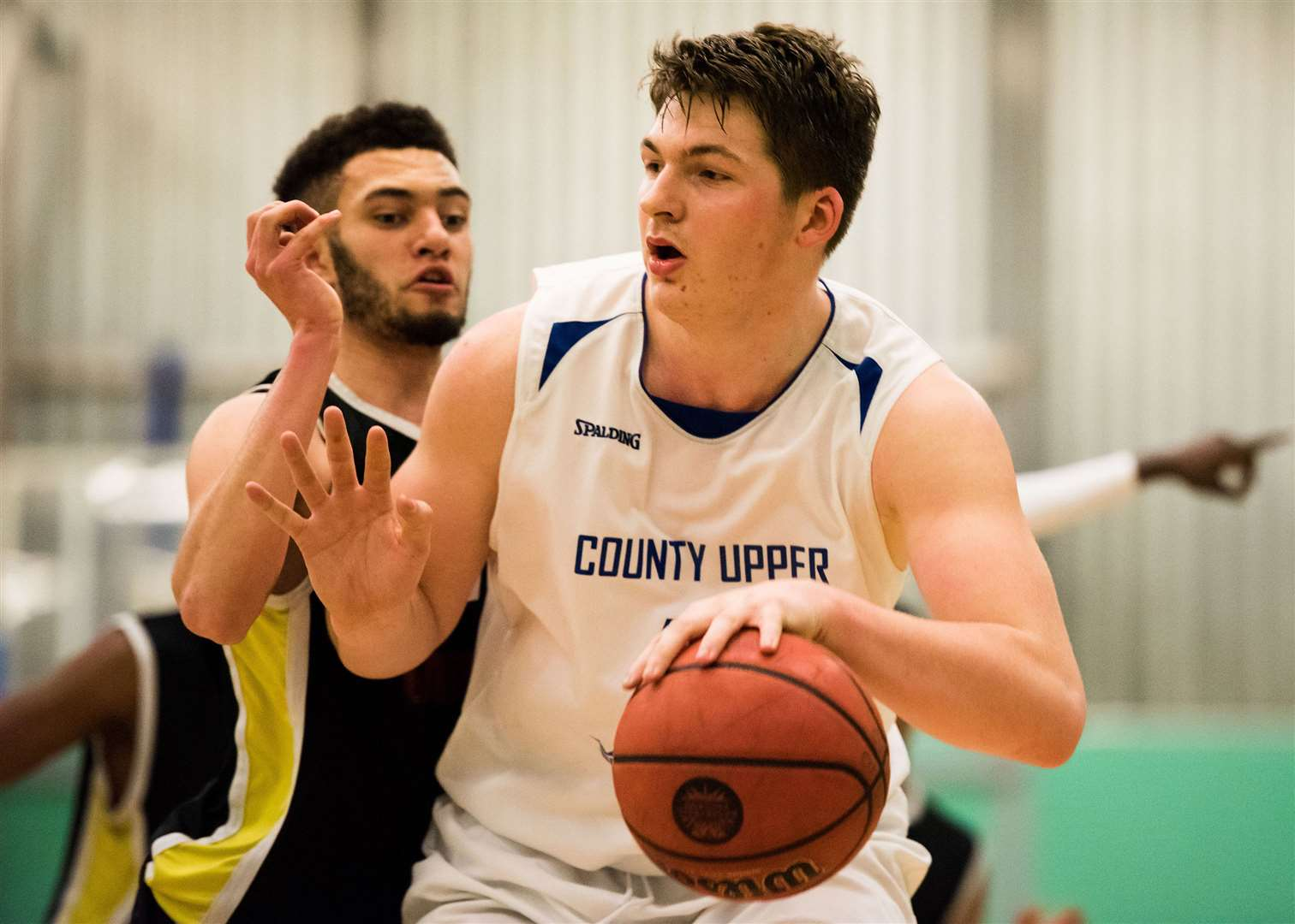 BURY: Bury St Edmunds County Upper U19 Elite basketball Bradley Day,- last home game 4.15 tip-off versus Gateway College from LeicesterPicture Mark Westley. (36388586)