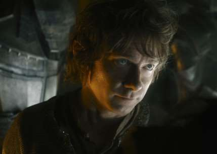 The Hobbit: The Battle Of The Five Armies - Martin Freeman as Bilbo Baggins. Picture: PA Photo/Warner Bros. ANL-141212-140801001