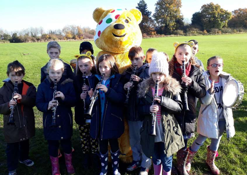 Wells Hall Primary Children in Need