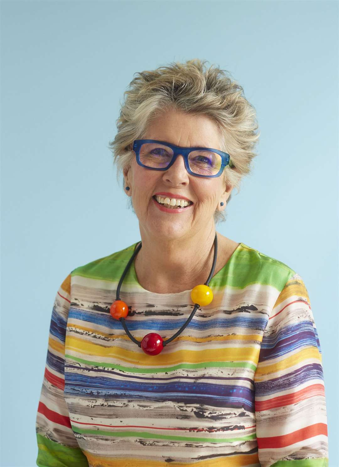 Prue Leith who will be in Newmarket on Thursday.