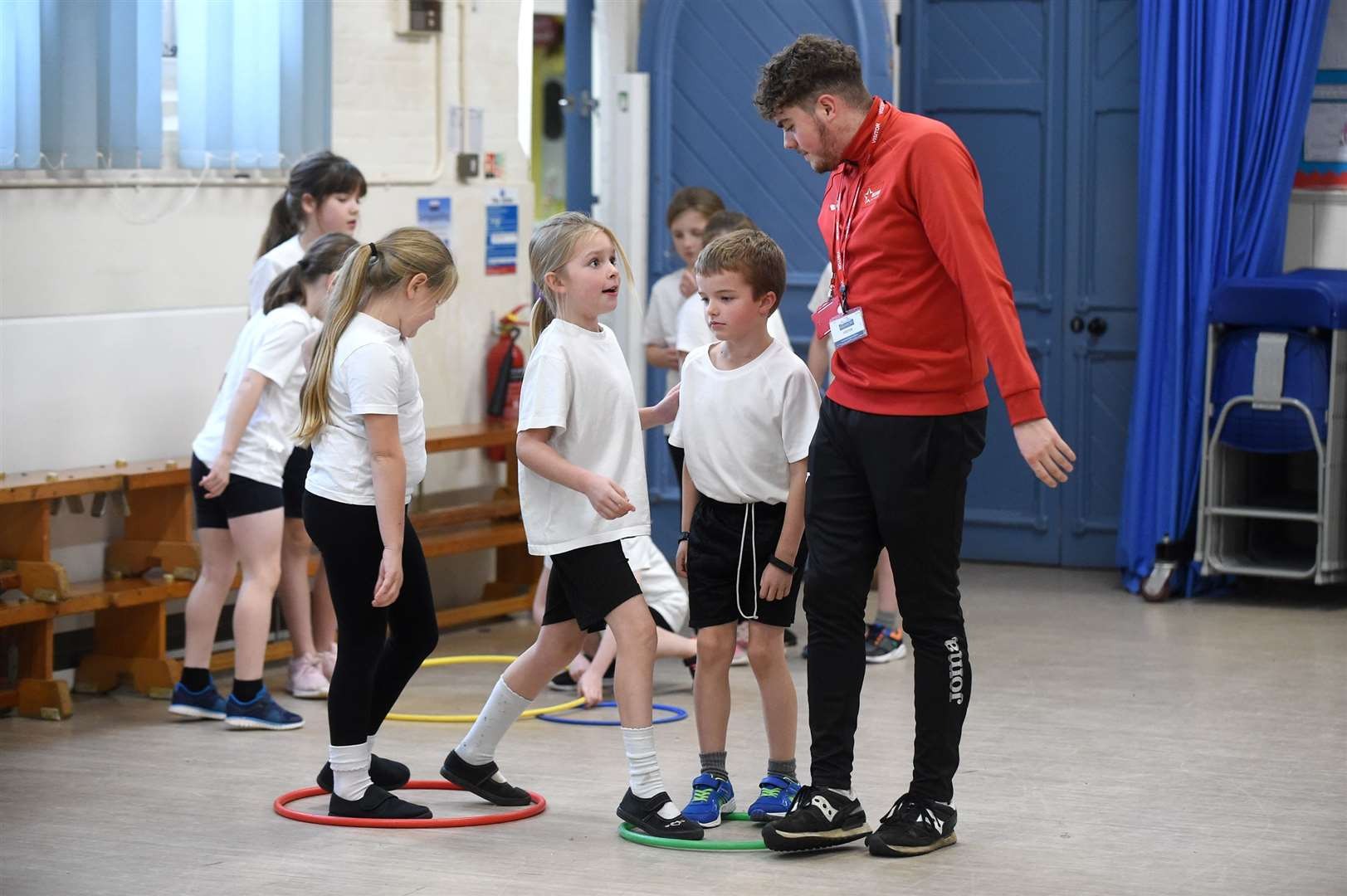 Glemsford Primary Academy staged a sports themed event to encourage youngsters to keep fit...PICTURE: Mecha Morton .... (22635380)