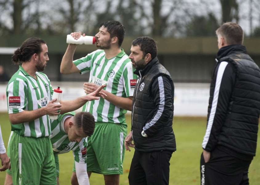 DEPARTING DUO: Soham are looking for a new boss after the departure of both Robbie Nightingale and Dave Theobald PICTURE: MARK WESTLEY