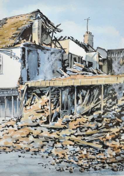 Sudbury's Visons 2015 at St Peters Church''Pictured: '41-42 Market Hill II' by Peter Gray ANL-150610-134236009