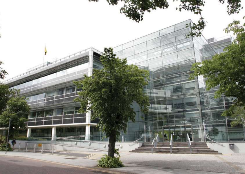Suffolk County Council's headquarters at Endeavour House, Ipswich