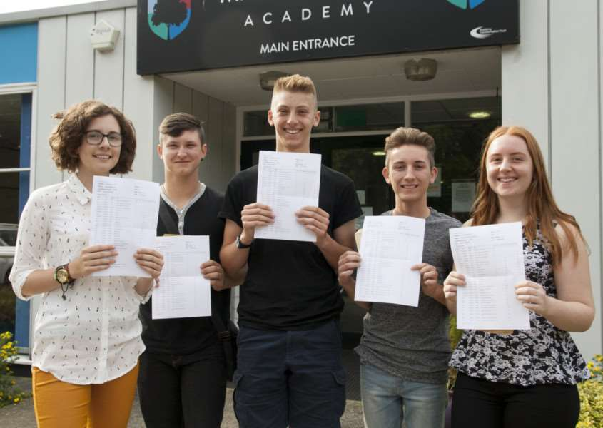 Mildenhall College Academy students ANL-160825-134107001